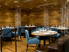 Dining room at Coast Restaurant, Vancouver, canada