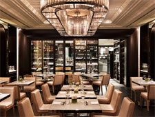 Dining room at Hawksworth Restaurant, Vancouver, canada