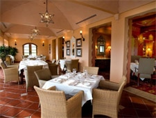 Dining Room at Maravilla, Ojai, CA