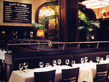 Dining room at Mon Ami Gabi, Reston, VA
