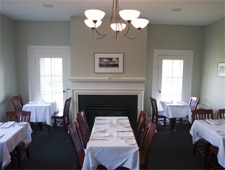 Dining room at The Kitchen Table Bistro, Richmond, VT