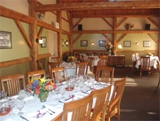 Dining room at Michael's on the Hill, Waterbury Center, VT