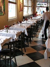 Dining Room at All Seasons Bistro, Calistoga, CA