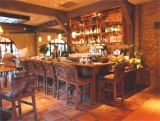 Dining room at Bottega, Yountville, CA
