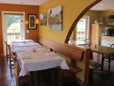 Dining Room at Terrapin Creek Cafe Restaurant, Bodega Bay, CA