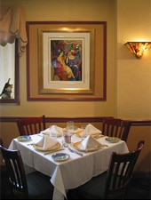 Dining room at Ristorante La Sala , Larchmont, NY