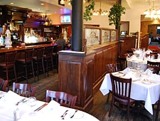 Dining room at THIS RESTAURANT IS CLOSED The Willett House, Port Chester, NY