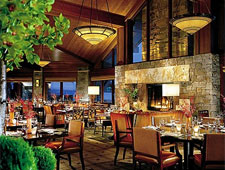 Dining room at Westbank Grill, Teton Village, WY