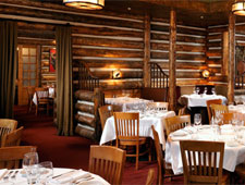 Dining room at Snake River Grill, Jackson Hole, WY
