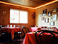 Dining room at Nani's Cucina Italiana, Jackson Hole, WY