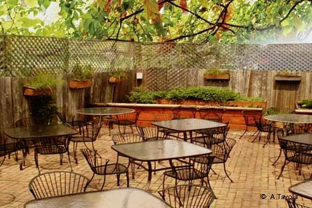 Classic Italian fare and affordable wines enjoyed on a pretty terrace epitomizes this Ukrainian Village trattoria.