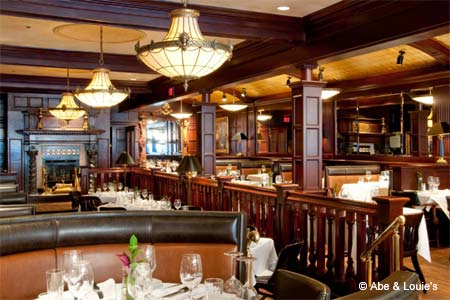 Prime beef served in a prime location at this Back Bay steakhouse.