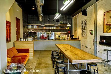Adams Coffee Shop, Los Angeles, CA