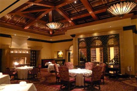 Exceptional, seasonal haute cuisine in a lavish European-style setting at Fairmont Grand Del Mar resort.