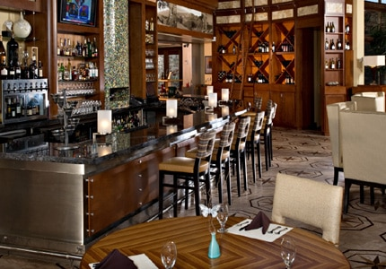 Enjoy classic cuisine with a California twist at this casual yet upscale dining room.