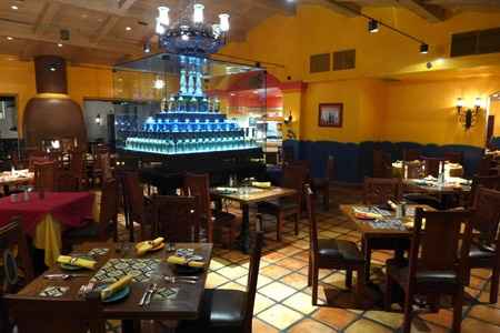 Resort restaurant offering authentic cuisine inspired by the Oaxaca region of Mexico.