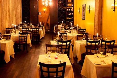 Dining room at Adoteca, Los Angeles, CA