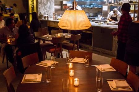 aestus is one of the Top 10 New & Notable Restaurants in Los Angeles
