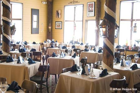 Dining Room at Afton House Inn, Afton, MN