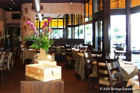 Romantic, upscale choice for traditional Spanish fare.