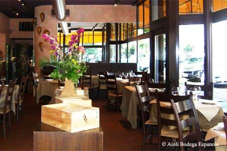 Dining Room at Aioli Bodega Espanola, Sacramento, CA