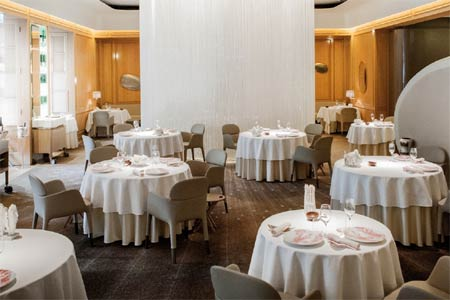 Alain Ducasse at The Dorchester boasts one of the best restaurant wine lists in London