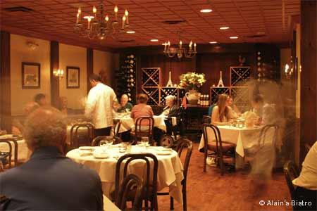 Alain's Bistro, Nyack, NY