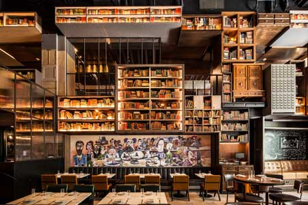 It's a feast for the senses and palate inside this Streeterville hotel restaurant.