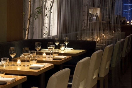 Dining room at Aldea, New York, NY