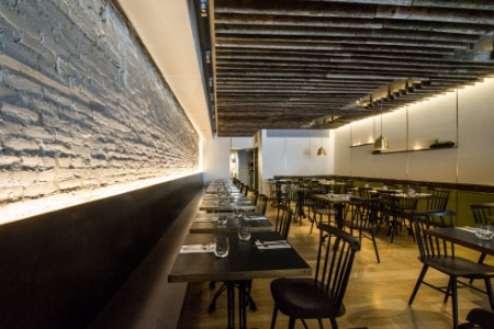 Dining room at Alder, New York, NY
