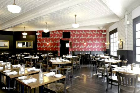 Almond Restaurant & Bar, Bridgehampton, NY
