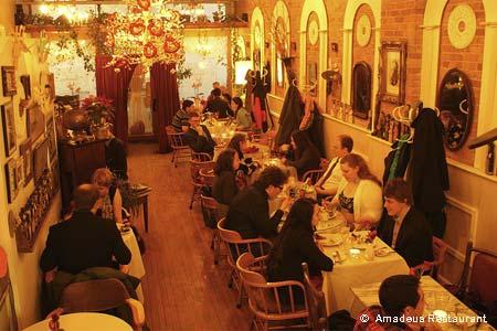 Amadeus Restaurant, Ann Arbor, MI