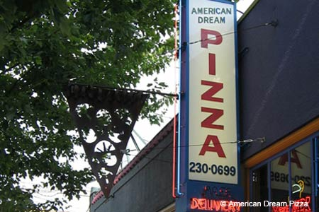 American Dream Pizza, Portland, OR