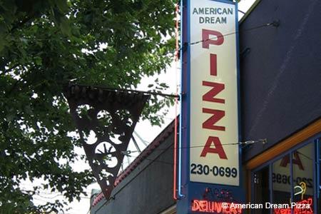 American Dream Pizza, Portland, OR