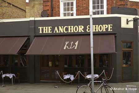 Anchor & Hope, London, UK