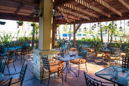 Elegant setting about a block south of Angel Stadium for Mexican cuisine with a French influence.