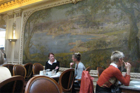 Dining Room at Angelina, Paris,