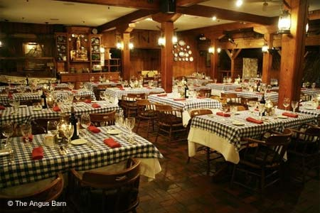 The Angus Barn serves first-rate steaks in the Triangle Area.