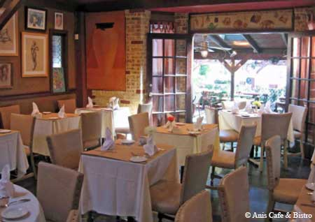 Buckhead restaurant in a converted house that has specialized in solid French bistro fare for more than 20 years.