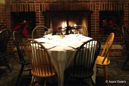 Dining Room at Annie Gunn