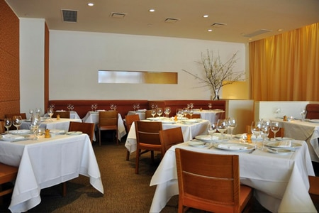 Dining room at Annisa, New York, NY