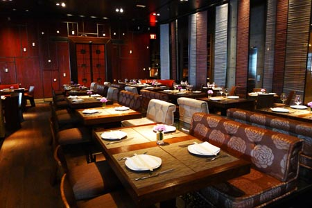 Dining Room at AnQi Gourmet Bistro by Crustacean, Costa Mesa, CA