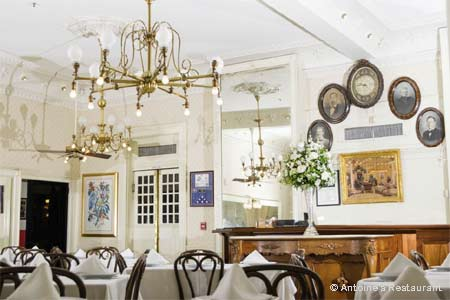 Antoine's created French Creole fine dining in New Orleans.