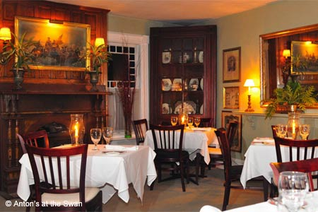 Old-fashioned elegance and hospitality is the backdrop for fine contemporary fare.