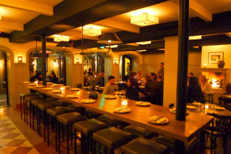 Dining Room at a.o.c., Los Angeles, CA