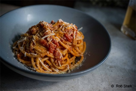 Enjoy house-made pastas at AR Cucina, one of GAYOT's Best Italian Restaurants in Los Angeles