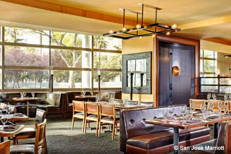 Michael Mina's gourmet cuisine makes Arcadia one of GAYOT's Top 10 American Restaurants in San Jose