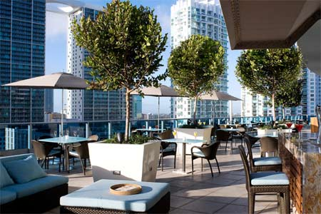 Views of downtown Miami along with seafood and a hot happy hour that draws a trendy crowd to this sleek spot in the sky.