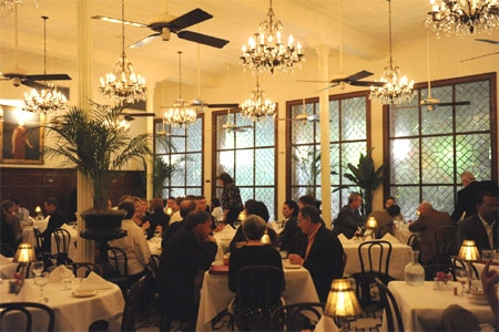 Arnaud's offers classic French Creole fine dining.