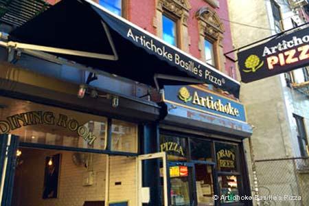 Artichoke Basille's Pizza, New York, NY